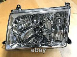 1998-2005 TOYOTA LAND CRUISER Right & Left Headlamp Assembly Glass 100 Series
