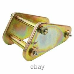 2 Lift Rear Greasable Shackle & Pin For Land Cruiser 40 60 70 75 Series
