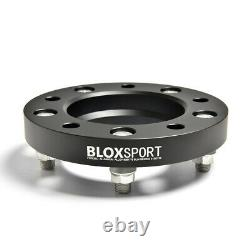 4 Aircraft Aluminum Wheel Spacers 1 inch for Toyota Land Cruiser 200 Series J200