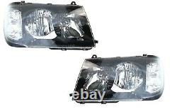 ALTEZZA HEAD LIGHT LAMP SUIT TOYOTA LANDCRUISER 100 series 1998 -2005 BLACK