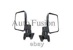 Door Mirrors Left And Right Pair For Toyota Landcruiser 60 Series (1988-1990)
