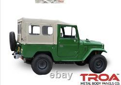 FJ40 Soft Top + Frame Kit. FREE TOOL BAG (Ambulance Door or Zippered)