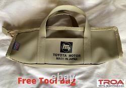 FJ40 Soft Top + Frame Kit. FREE TOOL BAG (For Ambulance Door or Zippered)
