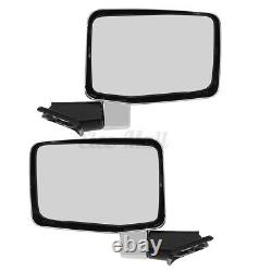 For Toyota Land Cruiser 1980-1990 FJ60 Series Chrome Side Door Mirror LH+RH