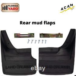 For Toyota Land Cruiser FJ60 60 FJ62 Rear Mud Flaps guard mud US SHIPPING