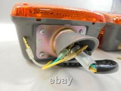 For Toyota Landcruiser 40series Fj45 Fj40 Hj45 Front Signal Light Indicator Pair