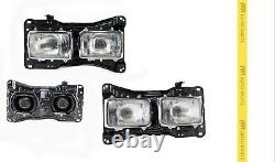 For Toyota Landcruiser 60 62 Series 8/87-1/90 Head Light With Base & Globes-pair