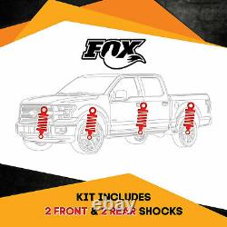 Fox Shocks FR 1-2.5 R 1.5-2.5 Lift for Toyota Land Cruiser 80 Series 4WD 89-97