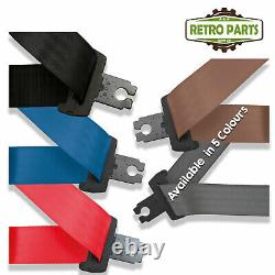 Front Automatic Seat Belt For Toyota Landcruiser Ranger 80 Series 1990 Type Grey
