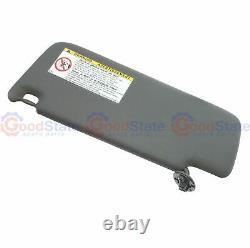 GENUINE LandCruiser Prado 120 Series Stone Gray Sun Visor Right RH RHS w Clip