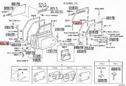 Genuine Toyota LandCruiser 75 Series FJ Troopy Front Right RH Door Weatherstrip