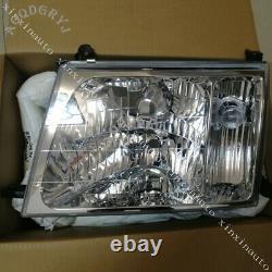 Headlights Head lamp Halogen LH+RH For Toyota Land cruiser 100 Series 1998-2005