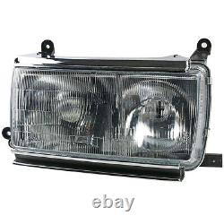 JDM Style Front Right Headlight Lamp For Land Cruiser 80 Series 1990-94