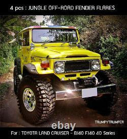 Jungle OFF-ROAD 4x4 Fender Flares Arch TOYOTA LAND CRUISER FJ40 BJ40 40 Series