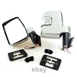 MIRRORS LED FIT TOYOTA LANDCRUISER 80-08 60 70 75 Series FJ60 HJ60 61 FJ62 75 70