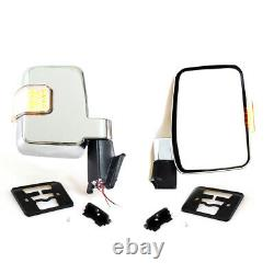 MIRROR w LED L&R FIT TOYOTA LAND CRUISER 60 70 75 Series FJ60 HJ60 61 FJ62 75 70