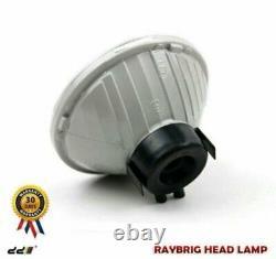 NEW Set RAYBRIG Chrome Round Headlight Lamp For Land Cruiser 20 40 60 70 Series