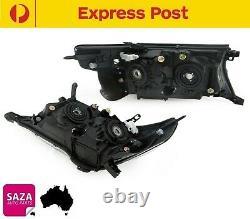 Pair Headlights Left & Right for Toyota LandCruiser J200 Series 07-15 (HALOGEN)