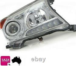 Right HID Headlight Daytime Running LED for Toyota LandCruiser 200 Series 12-15
