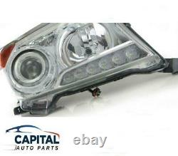 Right HID Headlight with Daytime Running LED Toyota LandCruiser 200 Series 12-15