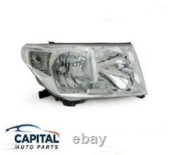 Right Headlight suits Toyota LandCruiser J200 Series 2007-2015 (HALOGEN)