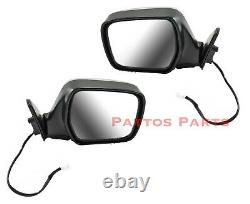 Suit Toyota Landcruiser 80 Series Electric Mirror PAIR CHROME NEW left + right