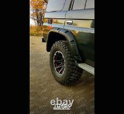 TOYOTA LAND CRUISER 78 79 Series FENDER FLARES Wheel Arches 80mm TUNING