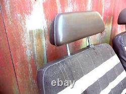 TOYOTA Landcruiser FJ 40 LX BJ 42 LX Series 40 J4 LX, front seats ZEBRA rare