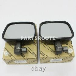 Toyota Land Cruiser 40 Series FJ40 OEM Genuine Rear View Mirror RH & LH 1980-86