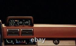 Toyota Land Cruiser 70 Series 4Runner Altimeter Inclinometer OEM JDM Brown Mint
