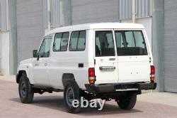 Toyota Land Cruiser 70 Series FZJ71 HZJ71 OEM Rear Bumper End Cap LH & RH 1999+