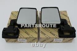 Toyota Land Cruiser 70 Series FZJ VDJ HZJ OEM Genuine Rear View Mirror RH & LH