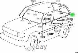 Toyota Land Cruiser 80 Series Lexus LX450 Quarter Door Belt Moulding LH & RH