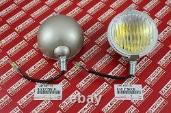 Toyota Land Cruiser FJ40 40 Series OEM Yellow Fog Lights Lamps Pair 81210-60010