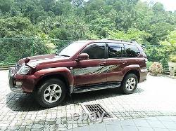 Toyota Land Cruiser Prado J120 series body decal sticker 2