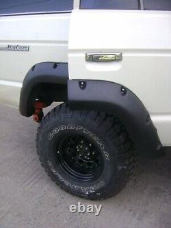 Toyota Land cruiser 60 series Wide wheel arches fender flares extension